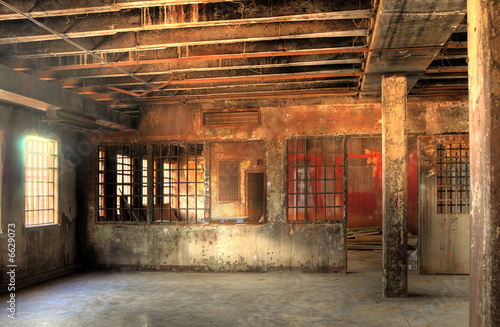 Photo  HDR of Abandoned Prison