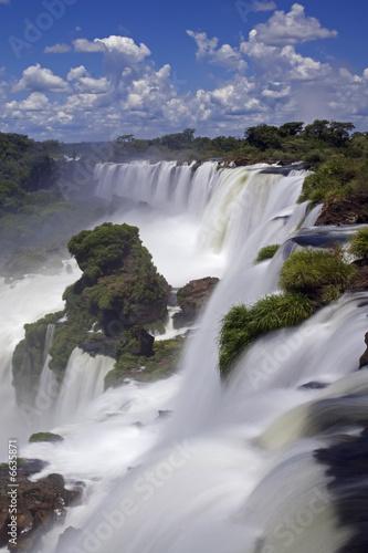 Fototapeta kontynenty   wodospad-iguassu