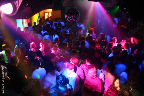Carta da parati discoteca by night