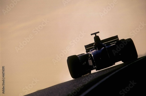 Abstract Motor Sport Lerretsbilde
