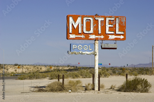Wall Murals Route 66 Mojave Desert 5933