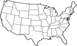 map of united states of america - 6706839