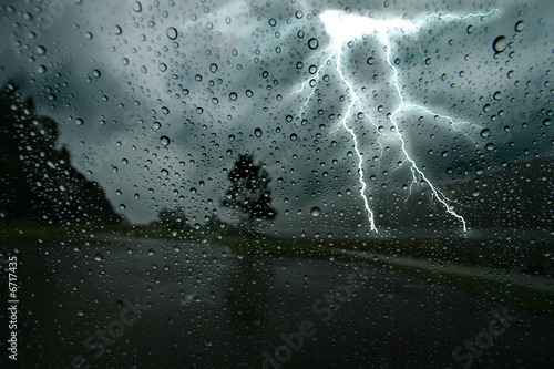 Canvas Prints Storm Thunderstorm 2