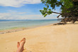 Strand Meer Füsse