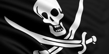 Rendered Jolly Roger