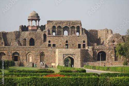 In de dag Delhi Old Fort, New Delhi