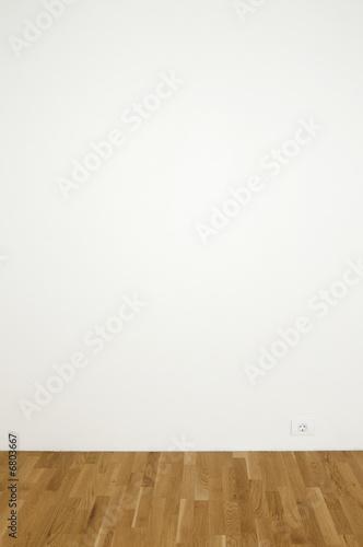 Foto op Plexiglas Wand Empty white wall