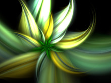 Spring Green Flower