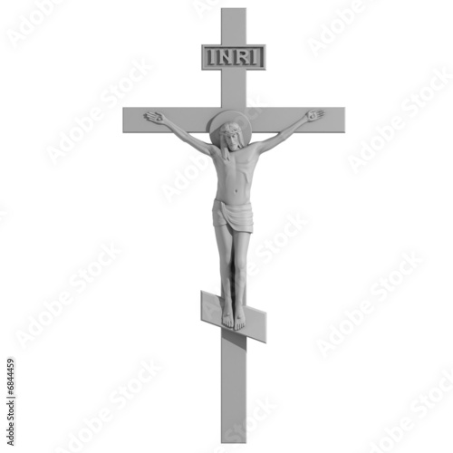 Fotografia Only Cross with the Crucifixion.