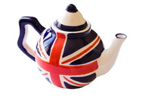 Small English Teapot Isolated