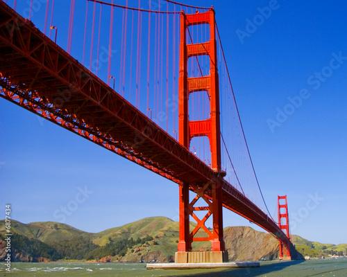 Keuken foto achterwand Art Studio Golden Gate