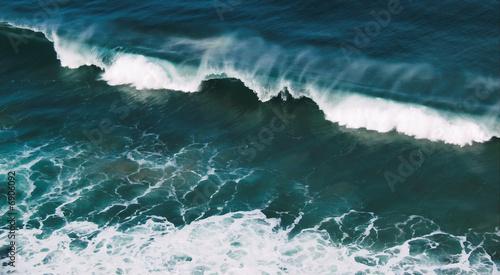 Stickers pour porte Wave in Larrybane Bay