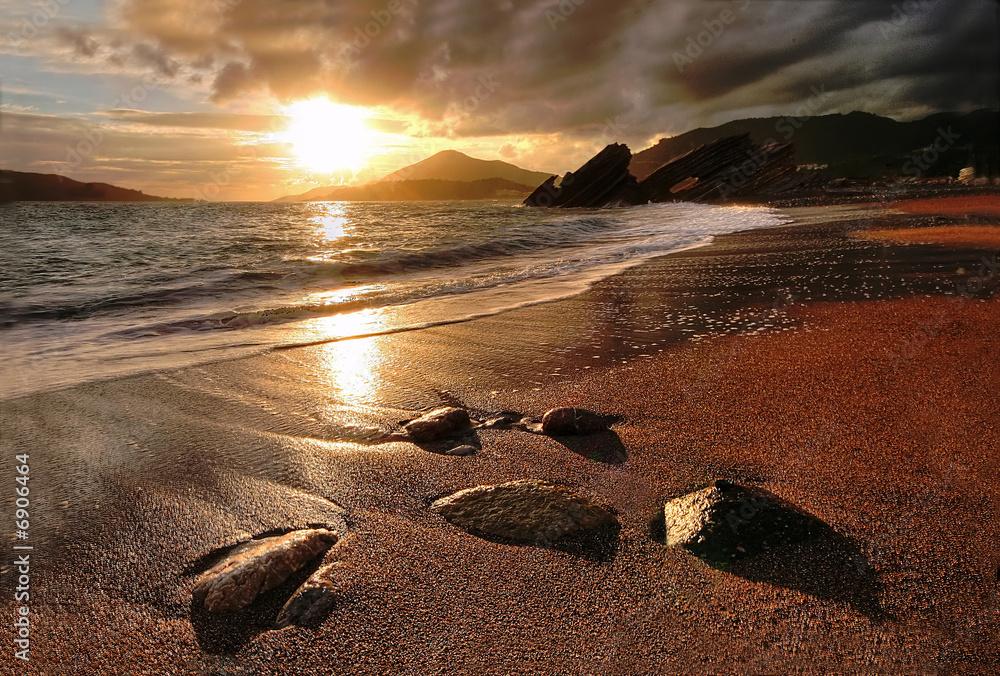 Fototapeta Rafailovichi beach