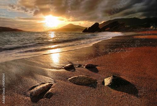 Foto-Schiebegardine Komplettsystem - Rafailovichi beach