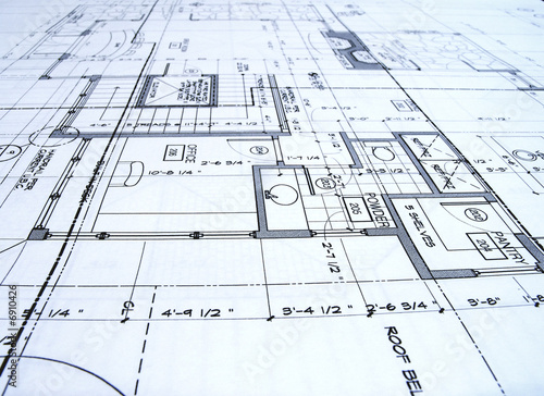 blueprints Canvas Print