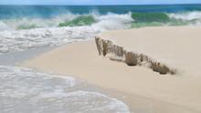 Beach With Mild Sand Dune Eros...
