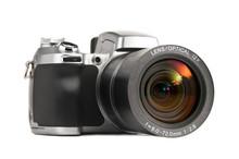 Isolated Photo Camera