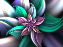 Light And Bright Flower