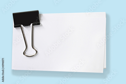 Fotomural  Clipped Blank Cards (with Path)