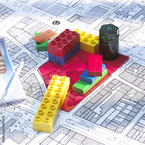 Obraz Planung - fototapety do salonu
