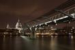 London river scene by night