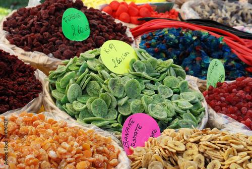 Keuken foto achterwand Assortiment Dried fruits - Mix