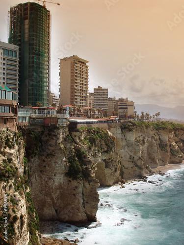 Fotografía Beirut shoreline - Lebanon