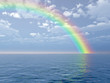 canvas print picture Beautiful rainbow