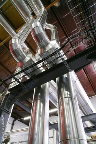 Valokuva  tuyau et tubes de chaudière à bois