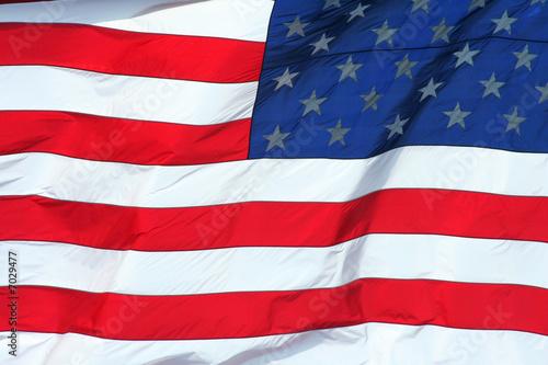 Photo Stands United States US Flag macro background