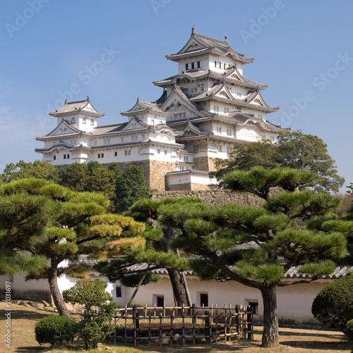 Foto-Kassettenrollo premium - Himeji Castle (von mmette)