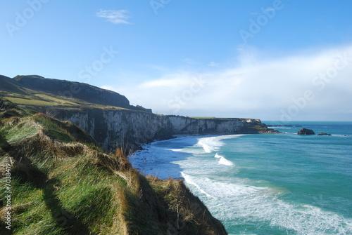 Tuinposter Kust Coastal Cliffs