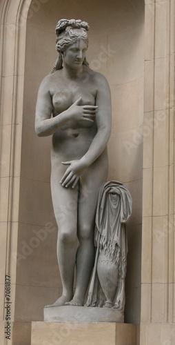 Fototapeta statue femme nue obraz na płótnie