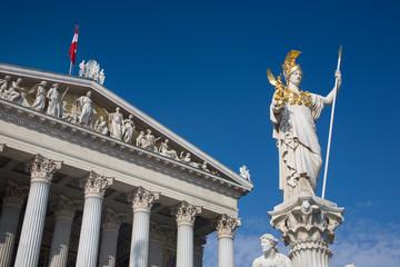 Austrija, Beč, Parlament, Pallas-Athene
