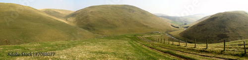 Staande foto Heuvel cheviot hills