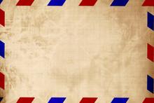 Vintage Air Mail Envelope