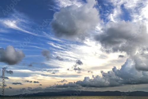 Fotografie, Obraz  nuageux