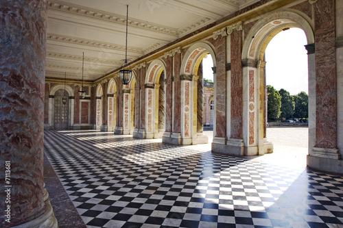 Foto grand trianon, parc du chateau de versailles, 78, île de france