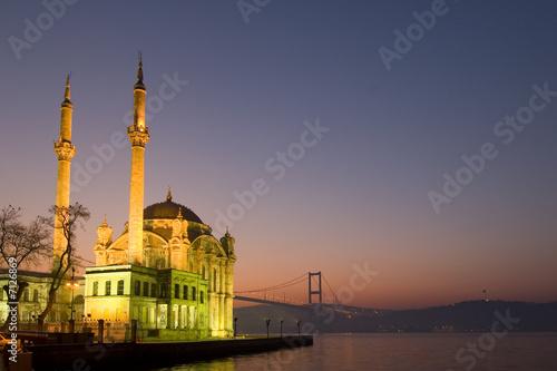 Fotografie, Obraz  Mosque in Ortakoy