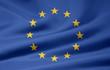 canvas print picture - Europäische Flagge