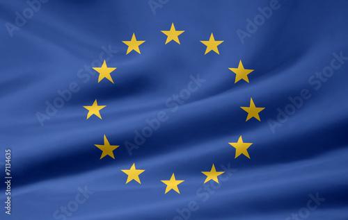 Fotografija  Europäische Flagge