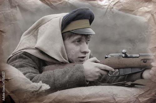 Soldier 1918 Fototapeta