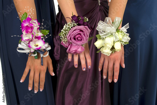 Canvas Print Corsages