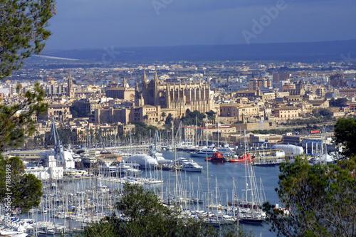Staande foto Cathedral Cove Bahia de Palma. Mallorca