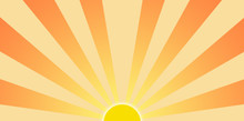 Setting Sun Graphic Clip Art
