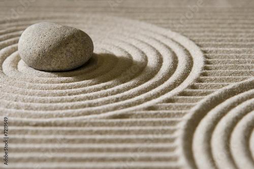 Fotobehang Zen Mini zen garden