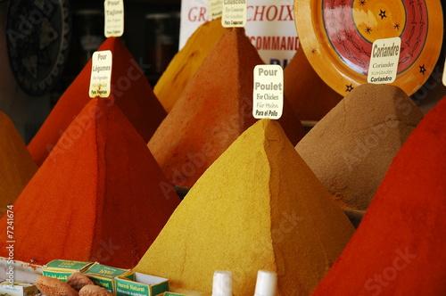 Photo Stands Epices de Marrakech