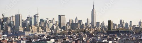 Fototapeta Manhattan Daytime Panorama obraz na płótnie