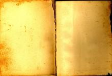 Vintage Old Open Book