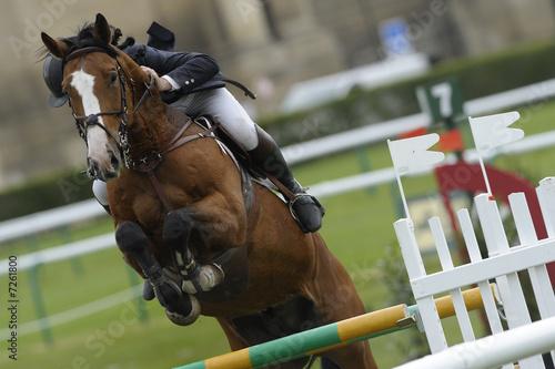 La pose en embrasure Equitation jumping33